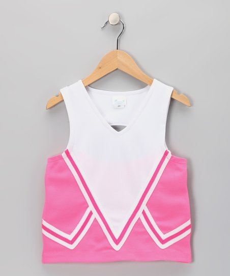 Hot Pink Intensity Uniform Tank - Girls