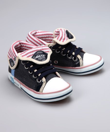 Denim & Red Kiwi Sneaker