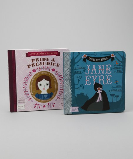 Pride & Prejudice & Jane Eyre Board Books