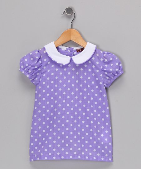 Ginger Hares Purple Jayden Dress - Infant, Toddler & Girls