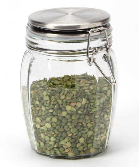 27-Oz. Lock-Tight Faceted Jar