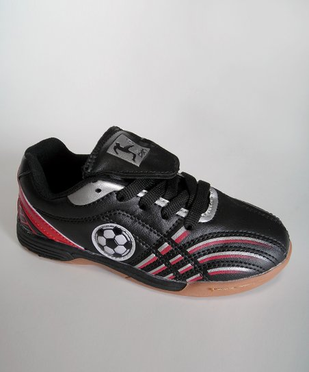 Black & Red Soccer Ball Sneaker