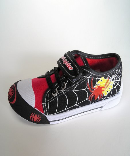 Black Web Light-Up Sneaker - Toddler