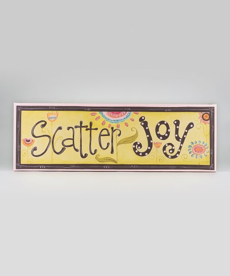 'Scatter Joy' Canvas Art