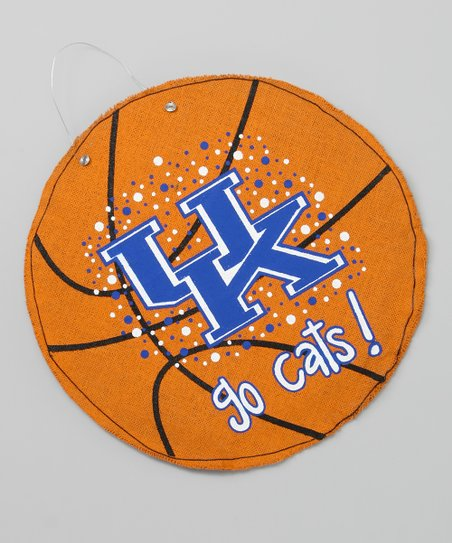 Kentucky Basketball Burlap Wall Hanging