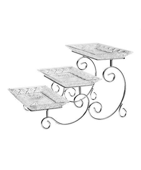Dublin Tiered Step Serving Rack