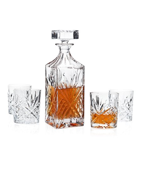 Dublin Crystal Whiskey Set