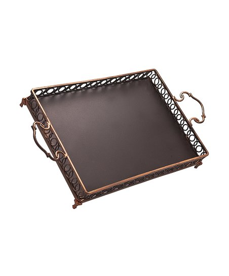 Hanover Copper Gallery Tray