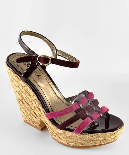 Purple Hey There 07 Sandal