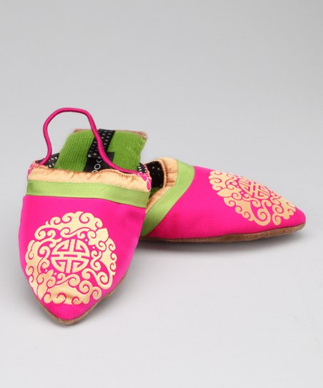 Pink Medallion Slipper