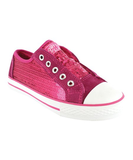 Hot Pink Auckland Sneaker - Kids