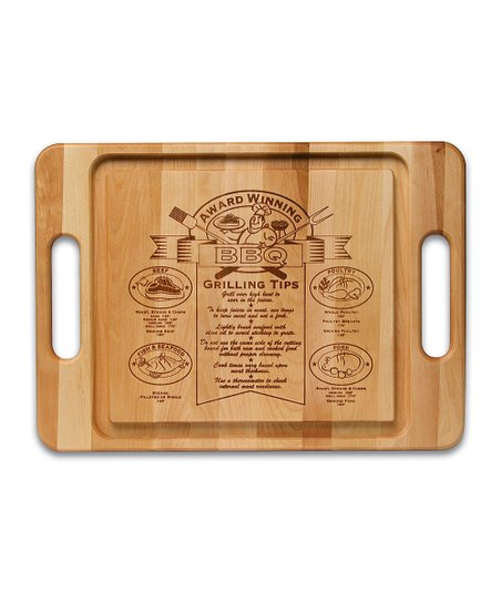 Barbecue Maple Cutting Board