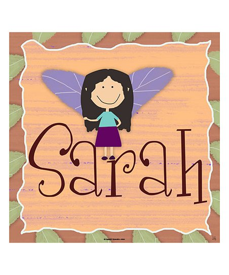 Fairy Personalized Wall Art