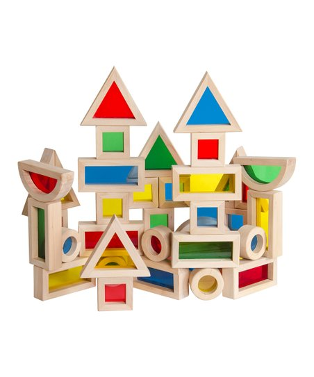 Rainbow Blocks - Set of 40