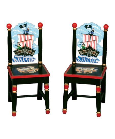 Pirate Chair - Set of Two