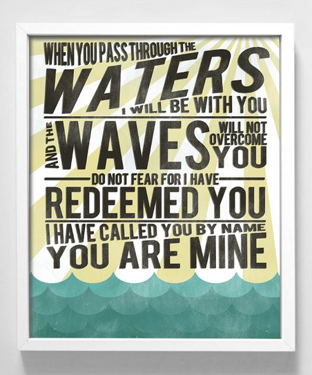 'Waters and Waves' Print
