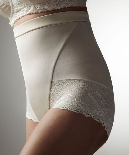 Champagne Luminous High-Waisted Shaper Briefs - Women