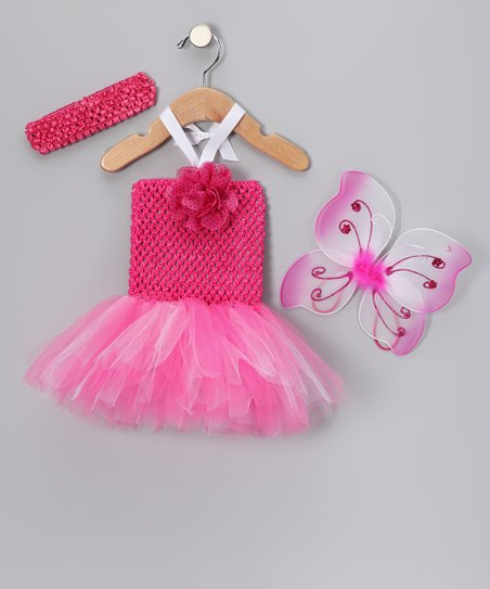 Hot Pink Tutu Dress Set