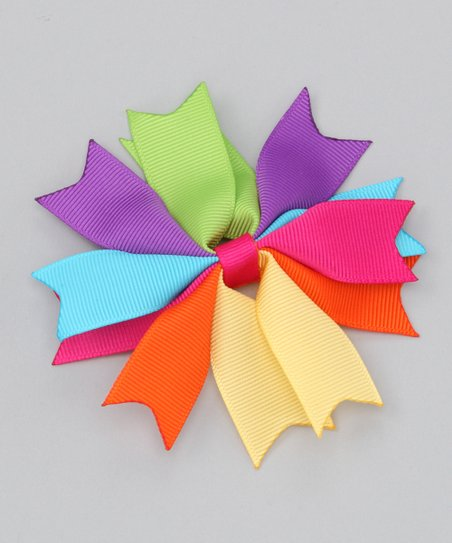 Rainbow Spike Bow