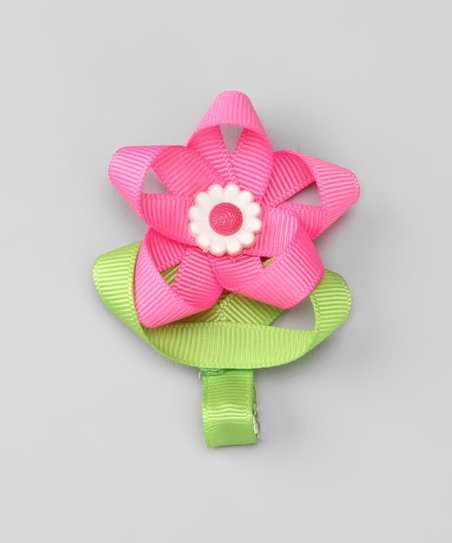 Pink Tulip Clip