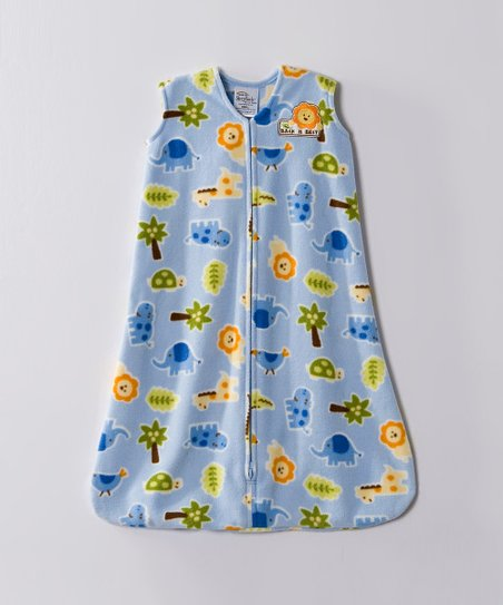 Blue Safari Fleece SleepSack