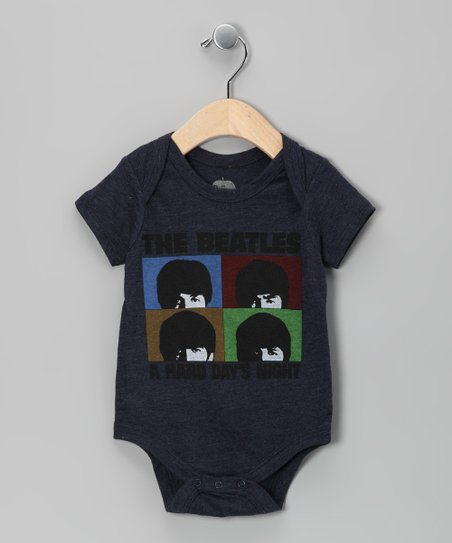 Navy 'Beatles Hard Day's Night' Bodysuit - Infant
