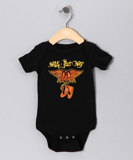 Black Aerosmith 'Walk This Way' Bodysuit - Infant