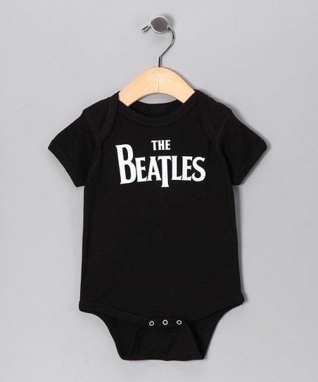 Black 'Beatles' Bodysuit - Infant