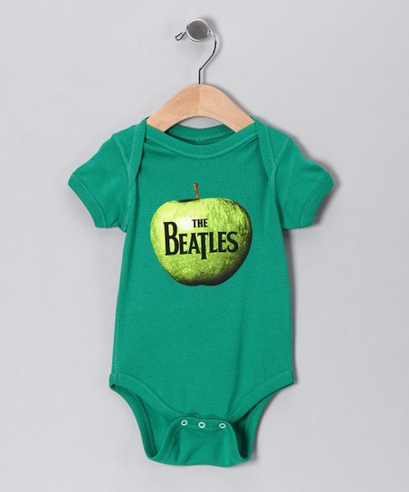Kelly Green 'Beatles' Apple Bodysuit - Infant