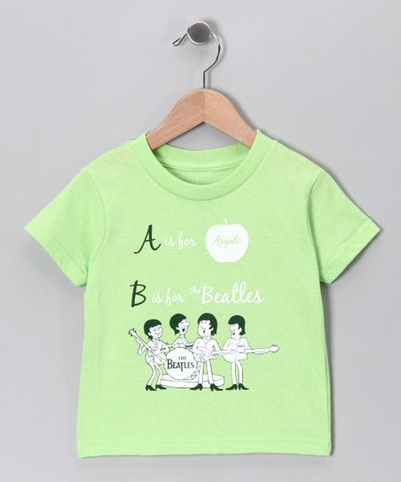 Key Lime Beatles 'A is for Apple' Tee - Toddler & Kids