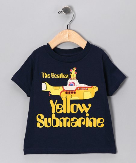 Navy 'Beatles Yellow Submarine' Tee - Toddler & Kids