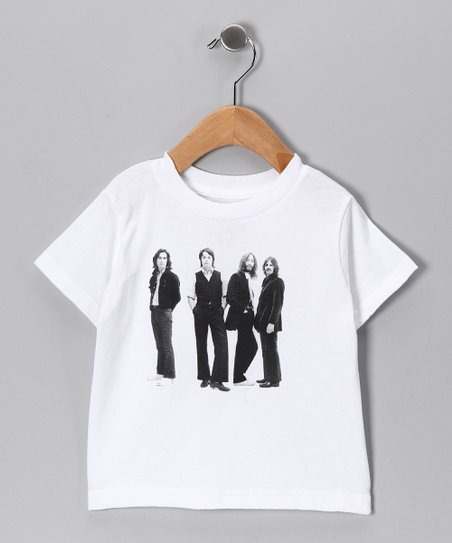 White Beatles Group Tee - Toddler & Kids