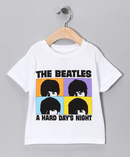 White Beatles 'Hard Day's Night' Tee - Toddler & Girls