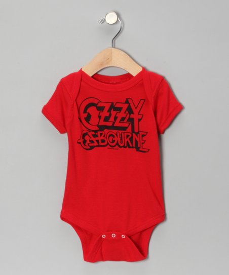 Rust 'Ozzy Osbourne' Bodysuit - Infant
