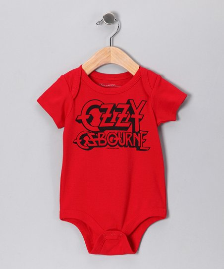 Red Ozzy Osbourne Bodysuit - Infant