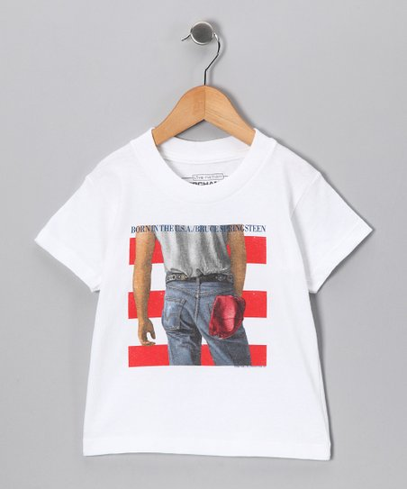 White Bruce Springsteen 'Born in the U.S.A.' Tee - Toddler & Kids