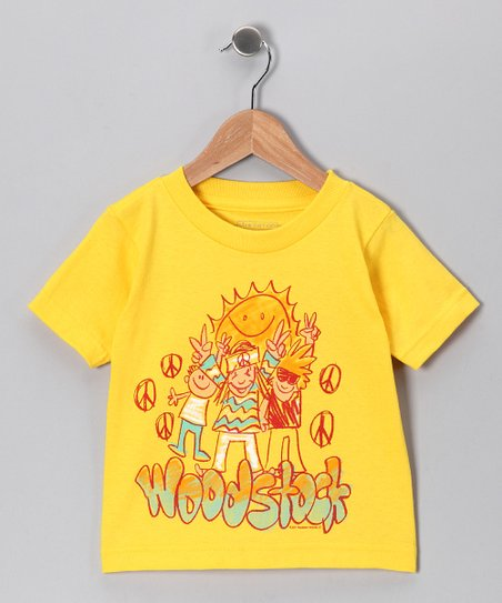 Yellow &#039;Woodstock&#039; Sunshine Tee - Toddler &amp; Girls
