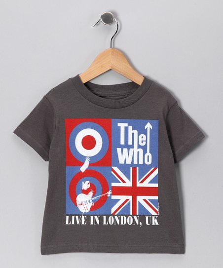 Charcoal 'The Who Live in London' Tee - Toddler