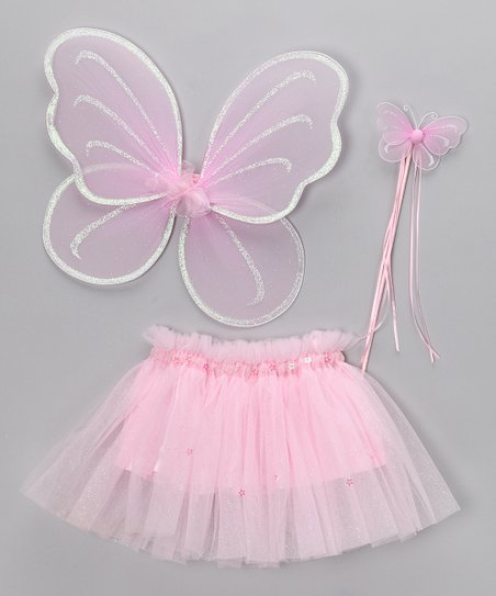 Pink Fairy Princess Set - Infant, Toddler & Girls