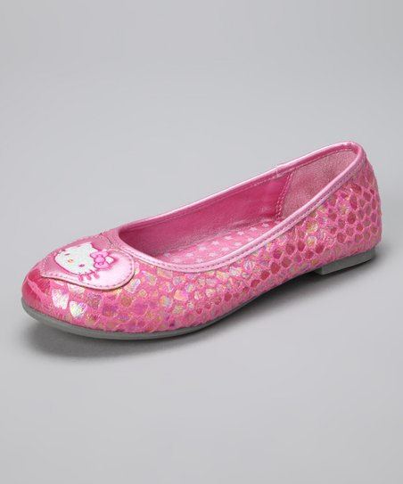 Pink Hello Kitty Kim Flat
