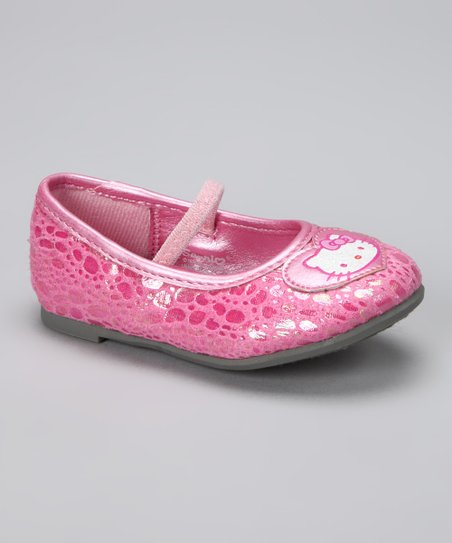 Pink Hello Kitty Kimmy Flat