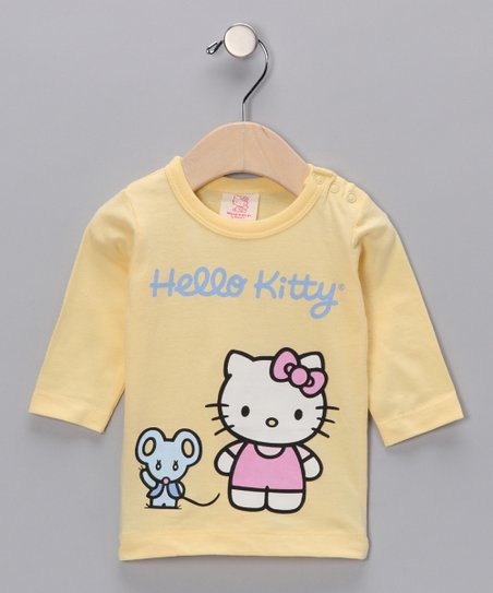 Lemon Mouse &#039;Hello Kitty&#039; Organic Tee - Infant