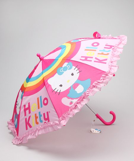 Pink Hello Kitty Umbrella