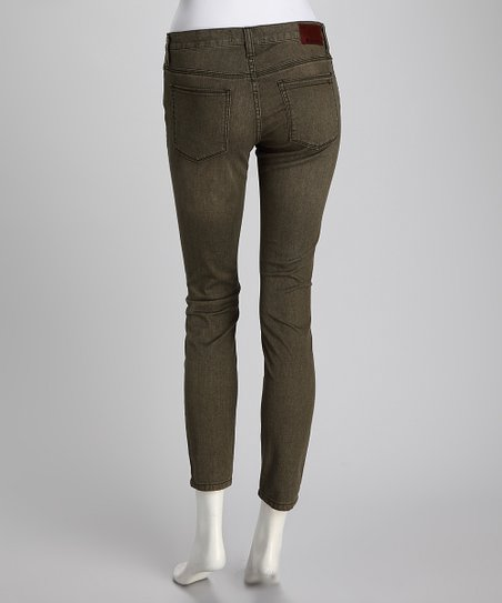 Henry & Belle Light Moss Ideal Ankle Skinny Jeans