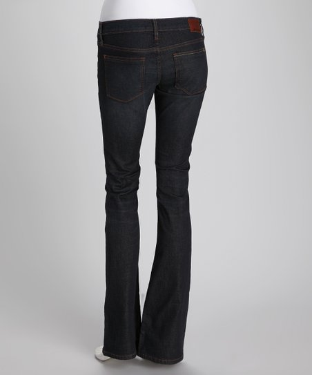 Randolph Ideal Low-Rise Bootcut Jeans