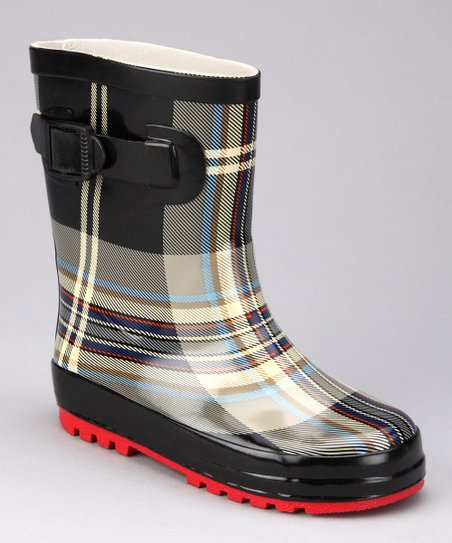 Black British Rain Boot