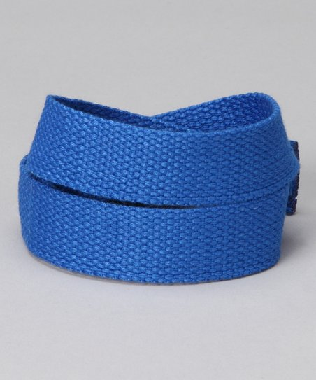 Blazin' Blue Velcro Belt