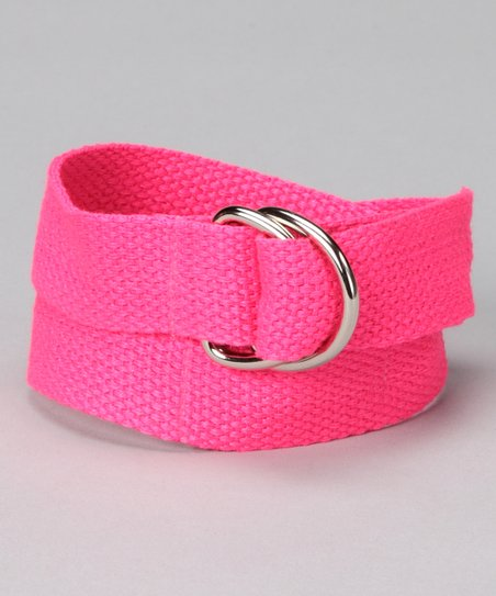 Fabulous Fuchsia D-Ring Belt