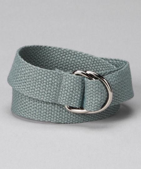 Gear Head Gray D-Ring Belt