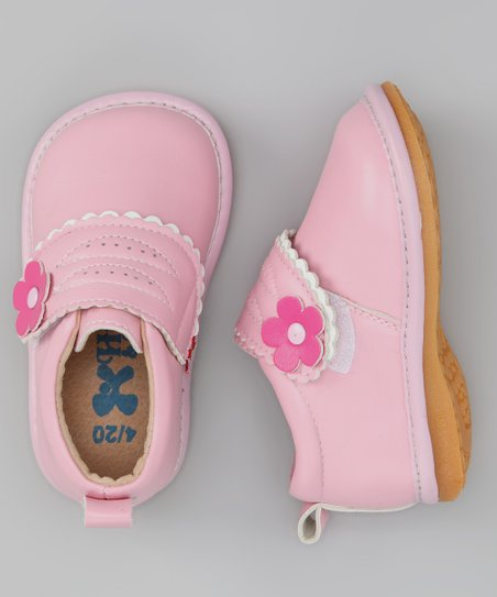 Light Pink Blossom Squeaker Shoe